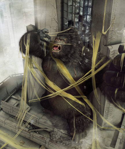 Extra Cheese - King Kong - Lamano Studio - Photography - Post Production - CGI -Character - Design - Craft - Illustration - Animation