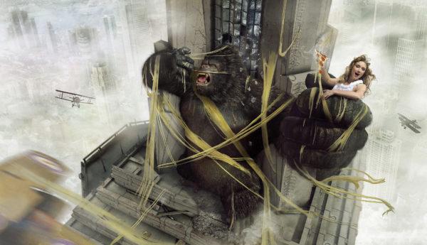 Extra Cheese - King Kong - Lamano Studio - Photography - Post Production - CGI -Character - Design - Craft - Illustration - Animation