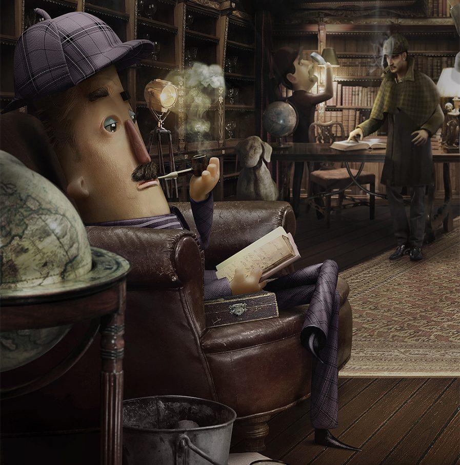 Sherlock-Holmes-01-Lamano-Studio-Animation-CGI-Character-Design-Craft-Illustration-Photography-Post-Production