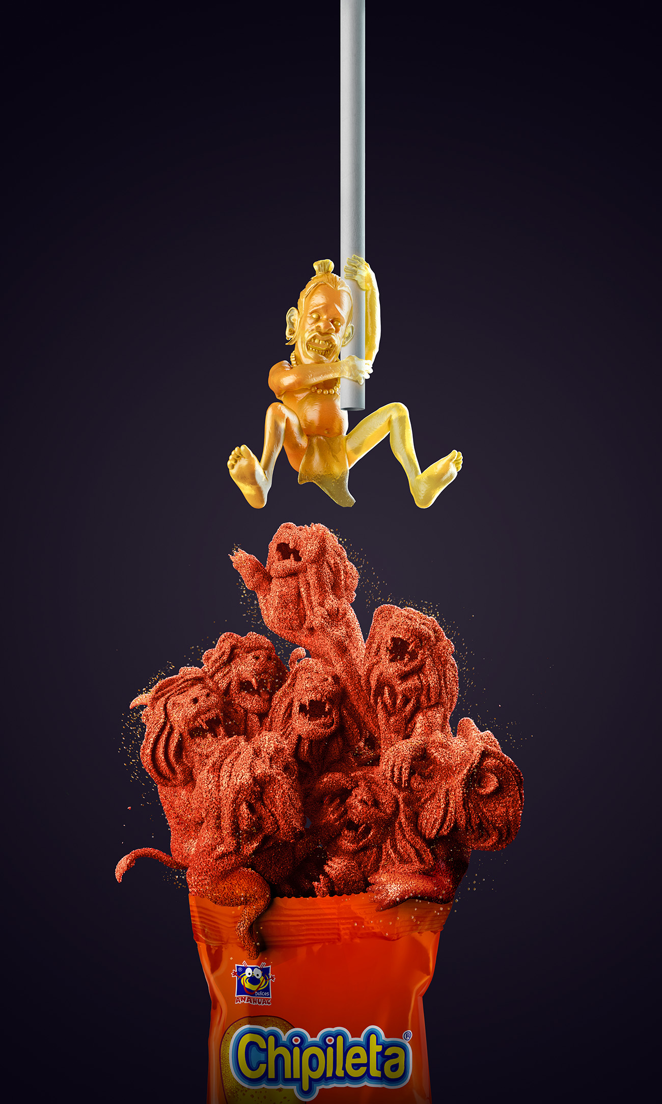 Chipileta - Lions - Lamano Studio - Illustration - Post Production - CGI - Animation - Handcraft - Photography