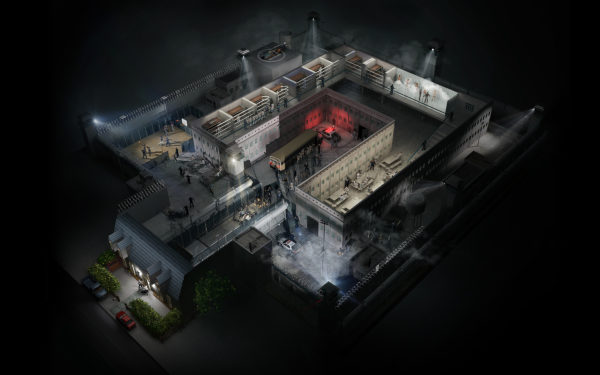 Prison House CCTV - Lamano Studio - Illustration - Post Production - CGI - Animation - Handcraft - Photography