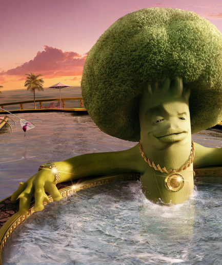 Lamano Studio - Colgate Broccoli - Illustration - Post Production - Photography - CGI - Animation - Handcraft