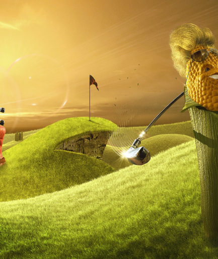 Lamano Studio - Colgate Corn - Illustration - Post Production - Photography - CGI - Animation - Handcraft