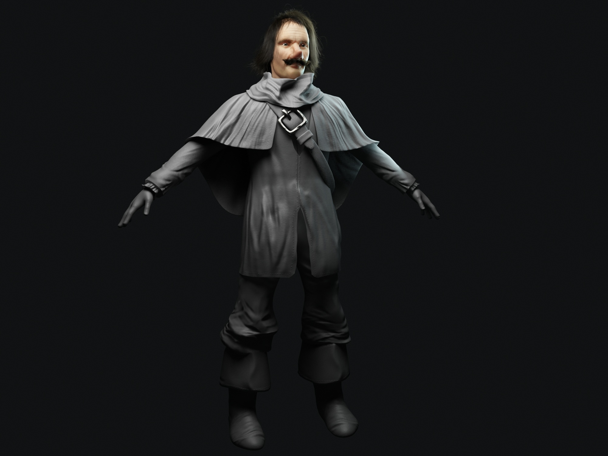 Cyrano Chracter 2 - Lamano Studio Illustration Post Production Cgi Animation Photography