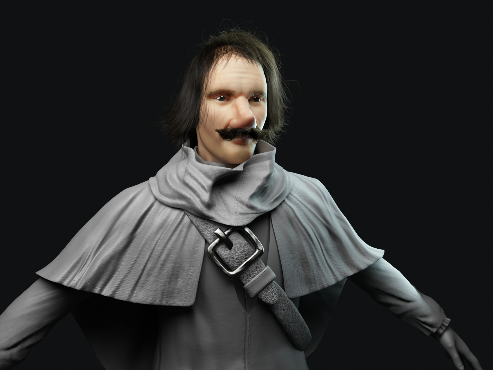 Cyrano Chracter - Lamano Studio Illustration Post Production Cgi Animation Photography