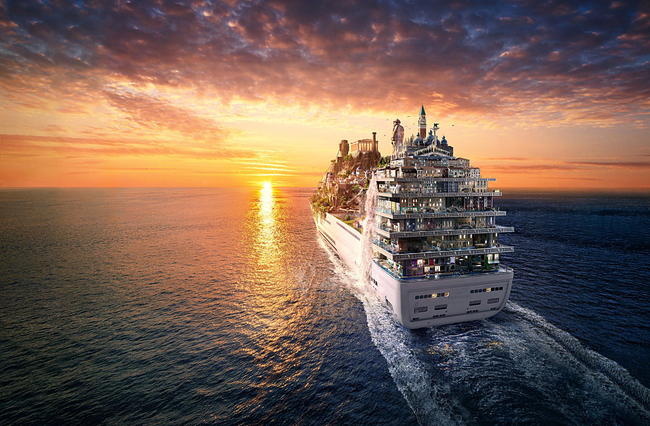 Lamano Studio - Fantastic Cruise Sunset