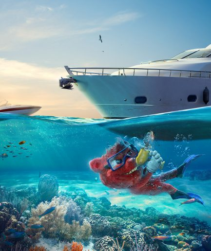 red-critten-yatch-lamano-studio-animation-photobashing-illustration-retouch-postproduction