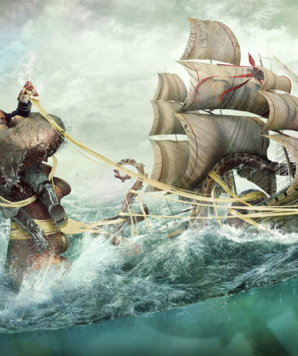 Extra Cheese, Octopus - Lamano Studio - Photography - Post Production - CGI -Character - Design - Craft - Illustration - Animation