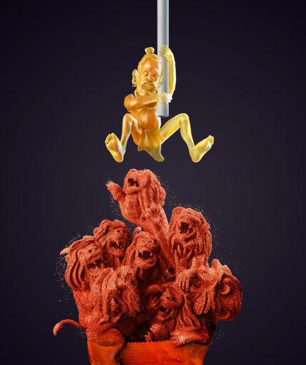 Chipileta - Lions - Lamano Studio - Illustration - Post Production - CGI - Animation - Handcraft - Photography