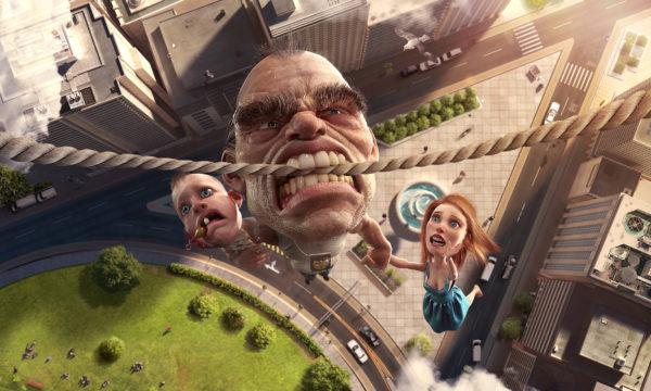 Nescafe - Cliffhanger - Lamano Studio - Illustration , Post Production , CGI , Animation , Handcraft , Photography