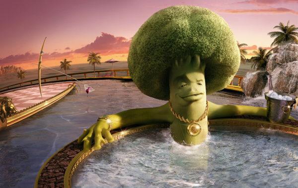 Lamano Studio - Colgate Broccoli - Illustration - Post Production - Photography - CGI - Animation - Handcraft