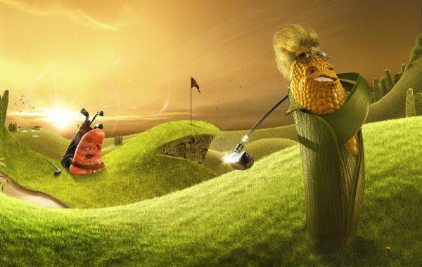 Lamano Studio - Colgate Corn - Illustration - Post Production - Photography - CGI - Animation - Handcraft