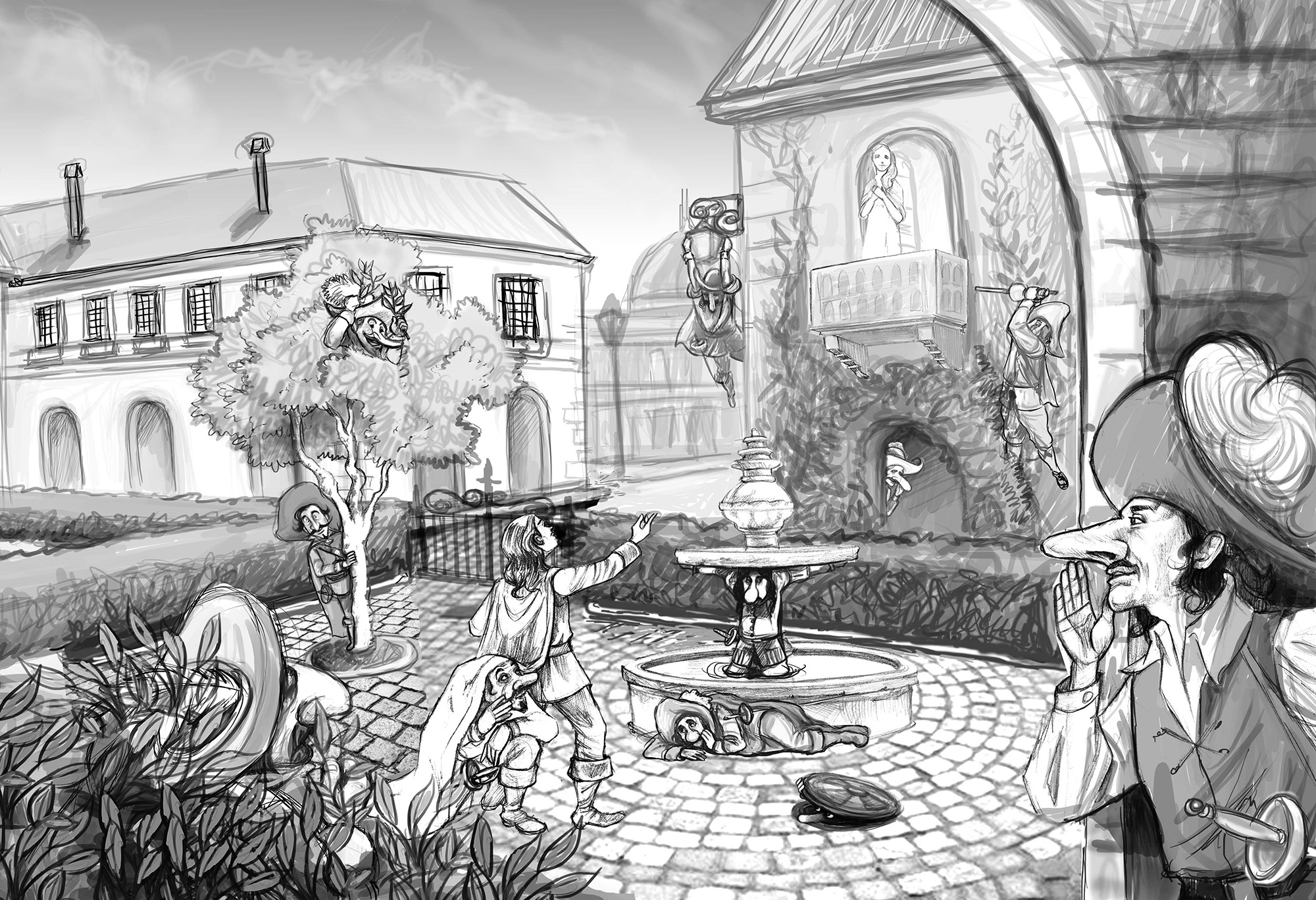 Cyrano Draft - Lamano Studio Illustration Post Production Cgi Animation Photography
